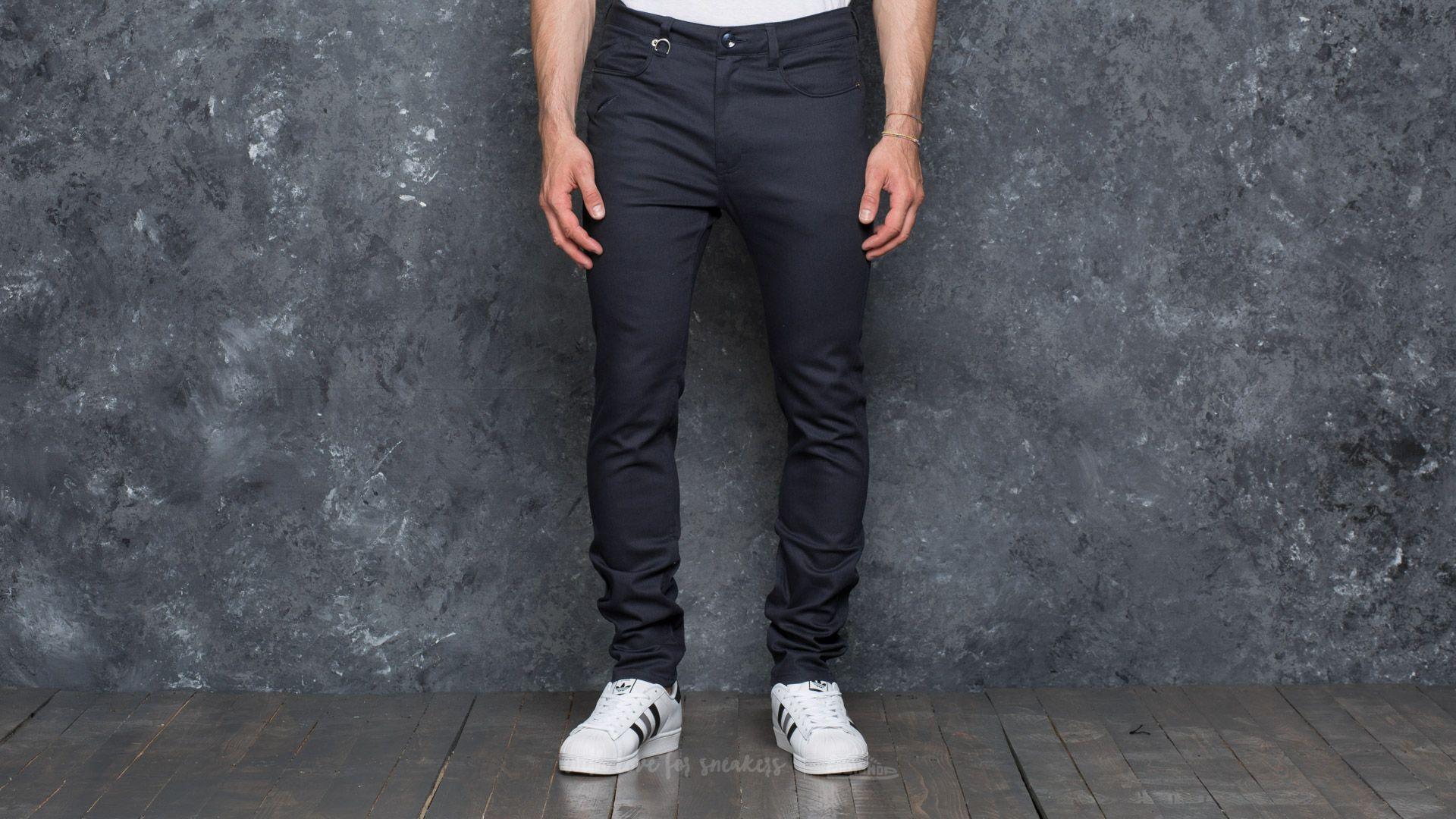 Publish Index Slim Classic Fit Pant Navy - 17577