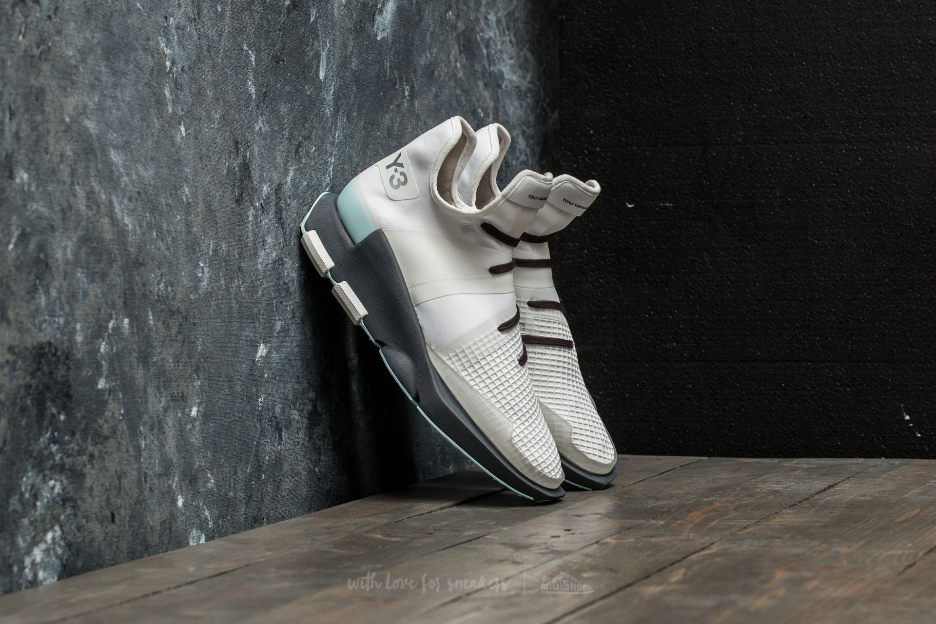 Y-3 Noci Low Crystal White/ Crystal White/ Utility Black - 18010