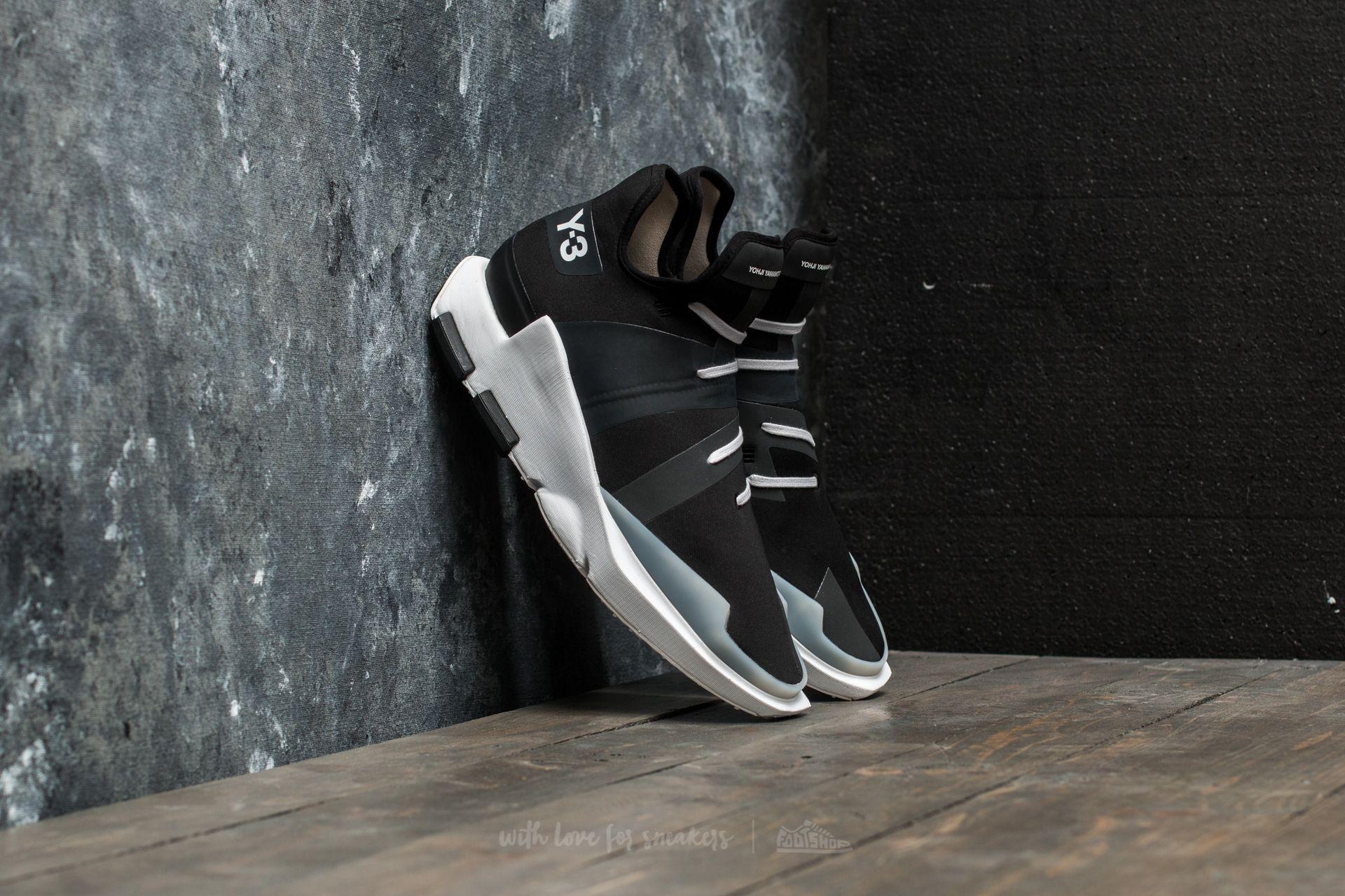 Y-3 Noci Low Core Black/ Core Black/ Crystal White - 18013