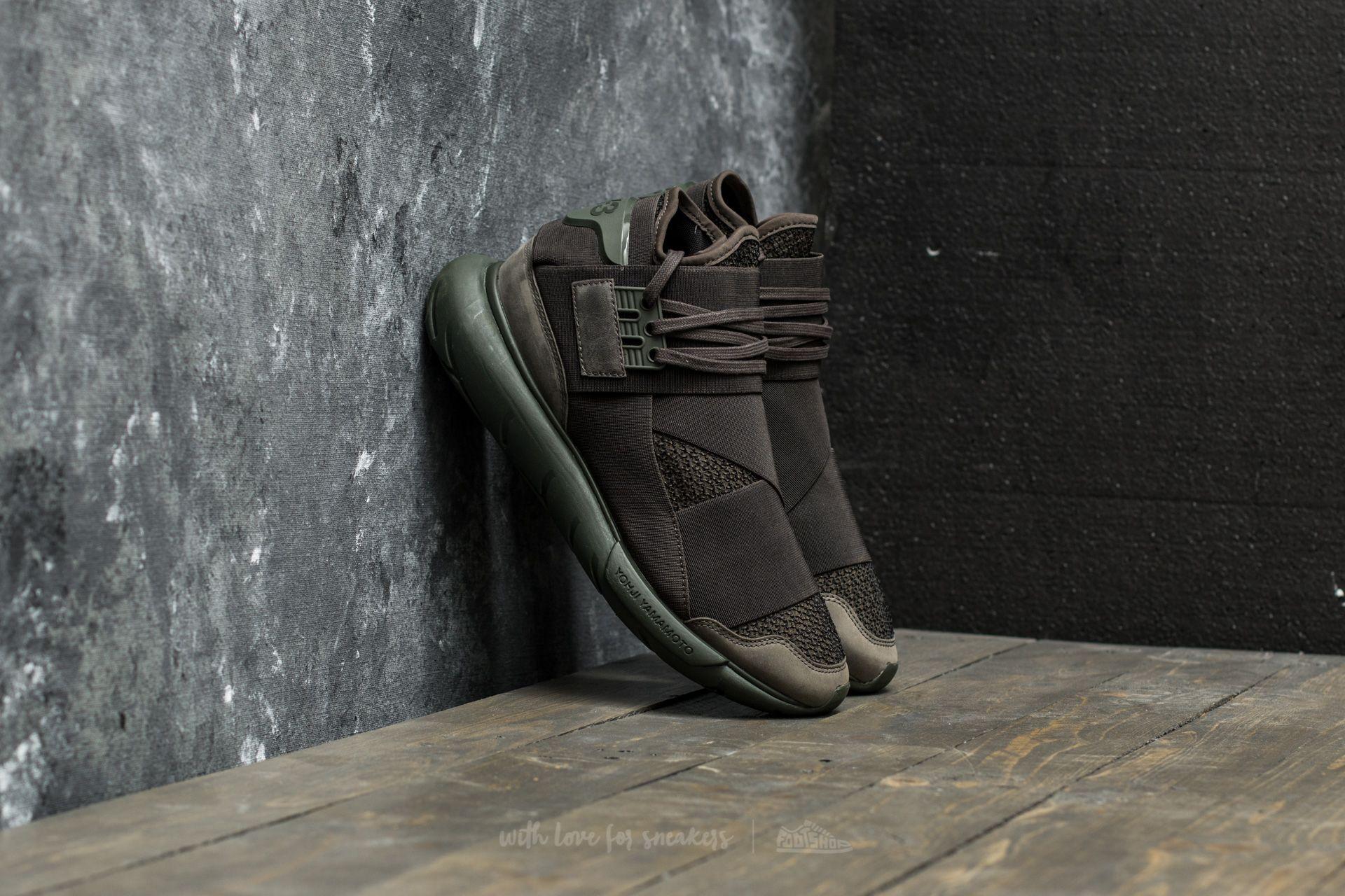 Y-3 Qasa High Black Dark Green - 18016
