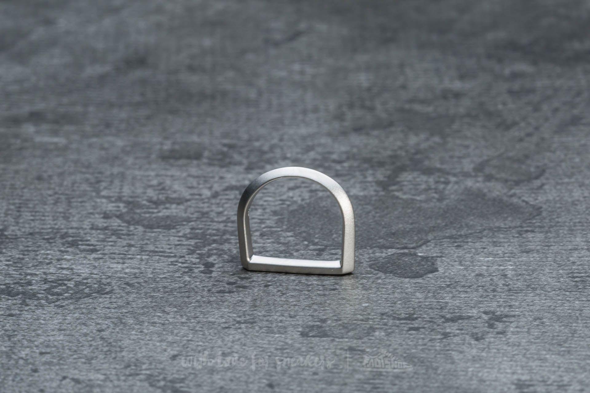 Miansai Flat Top Ring Silver Brushed - 17926