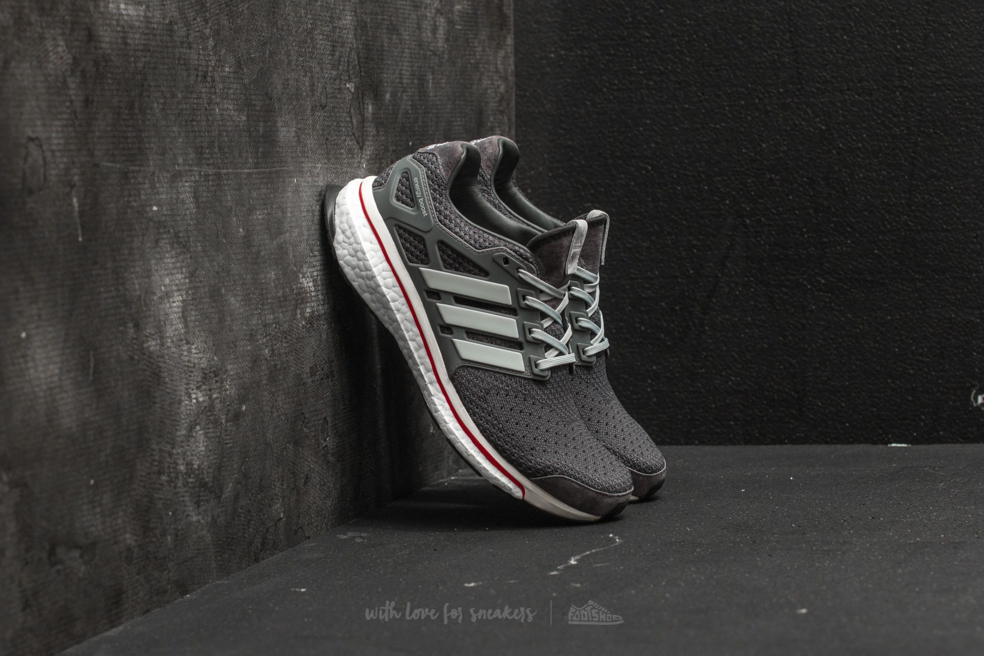 "adidas Consortium Energy Boost ""RUN THRU TIME"" Charcoal - 18068"