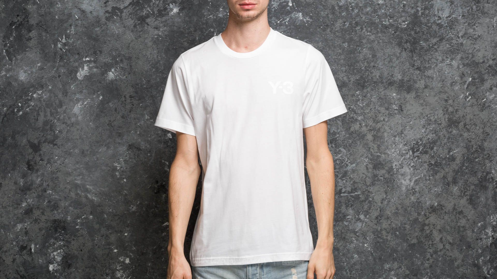 Y-3 M Classic Logo Front Tee White - 18011
