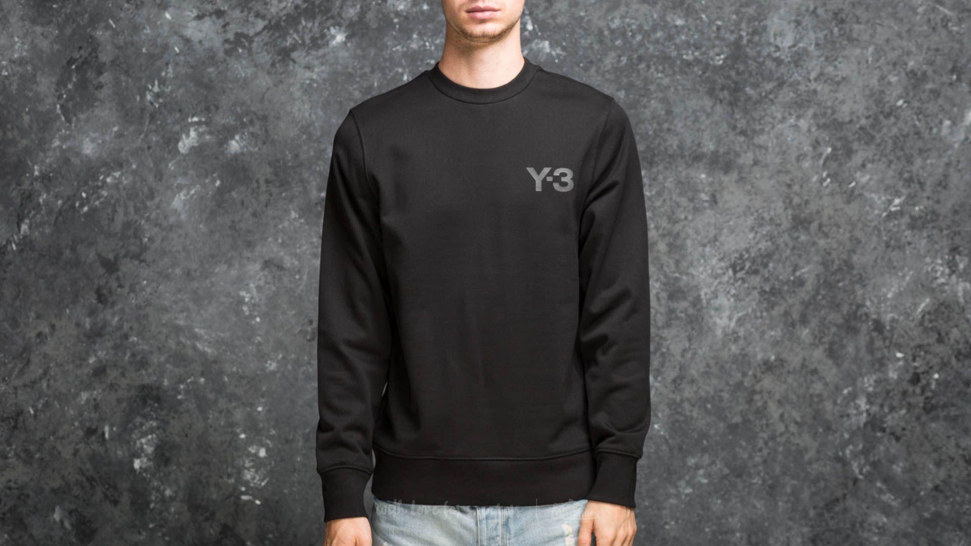 Y-3 M Classic Crew Sweatshirt Black - 18006