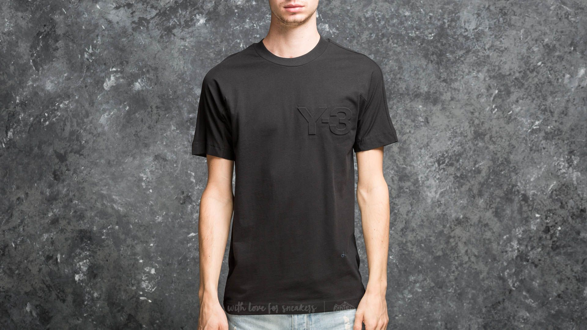 Y-3 Graphic Logo Tee Black - 18012