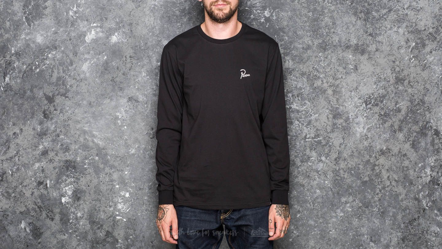 by Parra Flame Holder Longsleeve T-Shirt Black - 18742