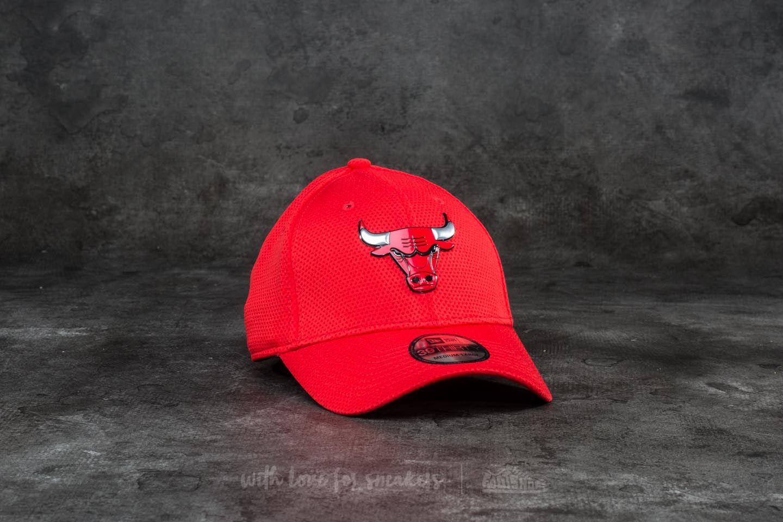 New Era 39Thirty Logo Pack Chicago Bulls Cap Scarlet - 18725