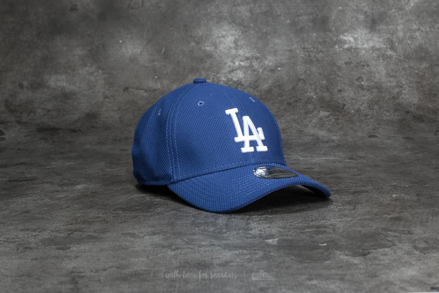 New Era 39Thirty Diamond Era Essential Loa Angeles Dodgers Cap Blue - 19504