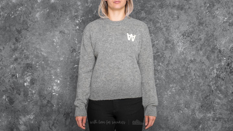 WOOD WOOD Anneli Sweater Grey Melange - 19512