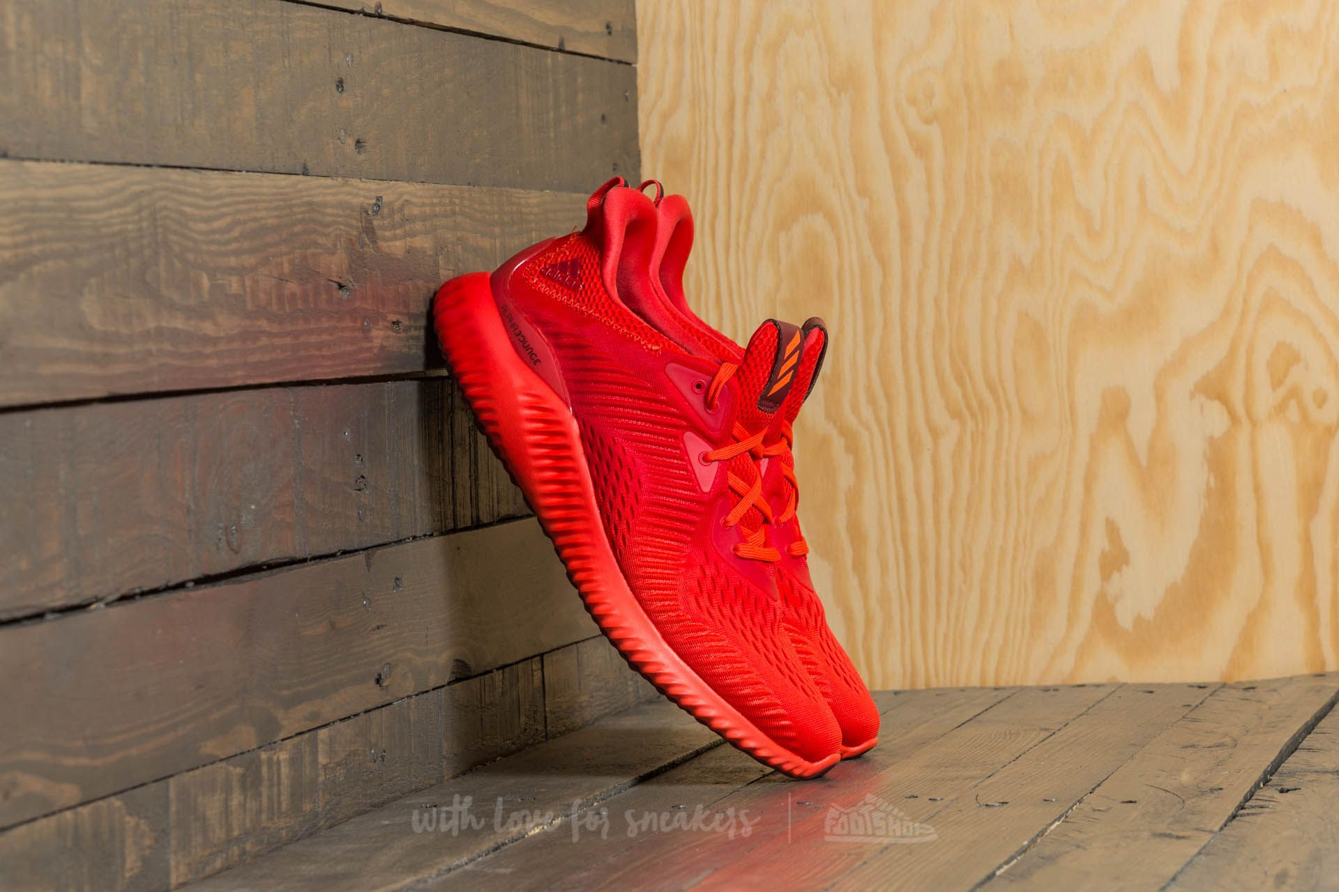 adidas Alphabounce EM M Red/ Red/ Red - 20061