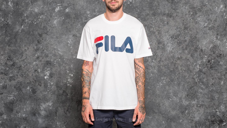 FILA Classic Logo Tee Bright White - 19858