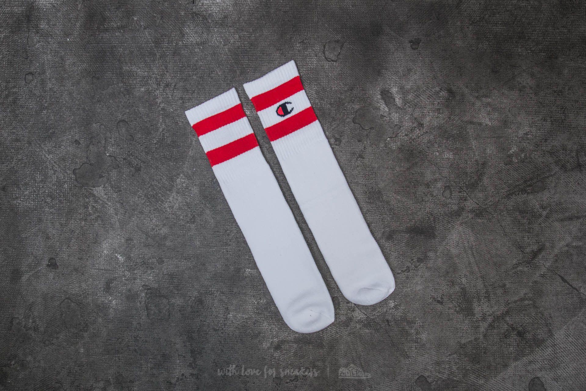 Champion 1 Pair Crew Socks White - 20341