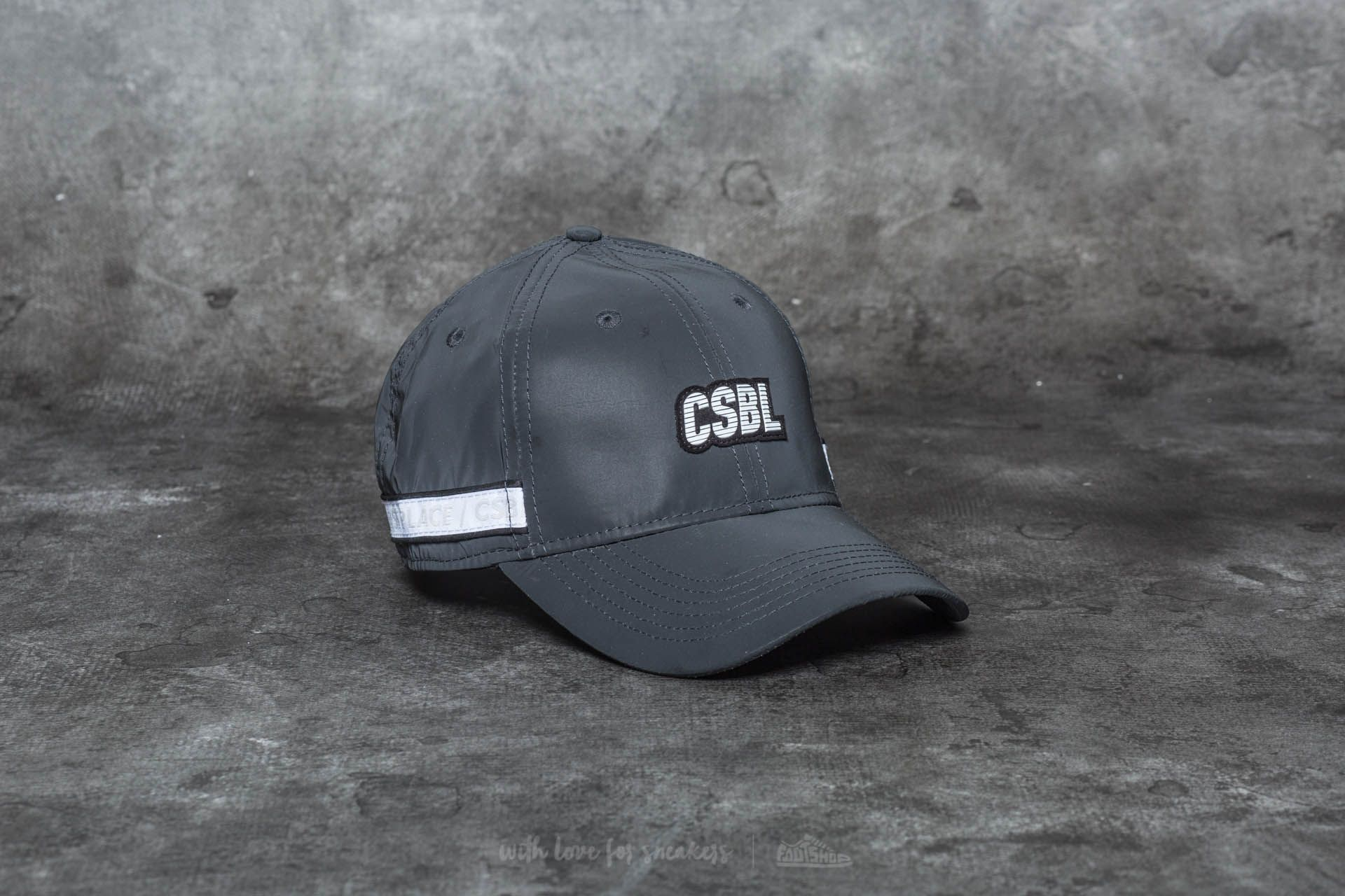 Cayler & Sons CSBL First Division Curved Cap Black - 20222