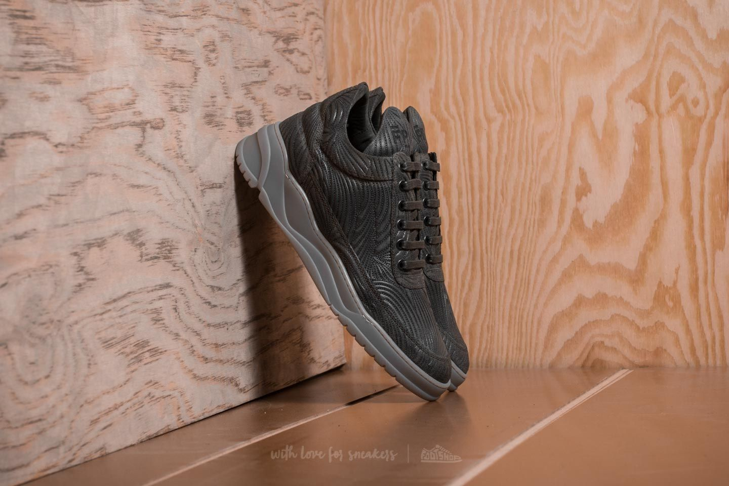Filling Pieces Low Top Astro Joichi Army Green - 20305