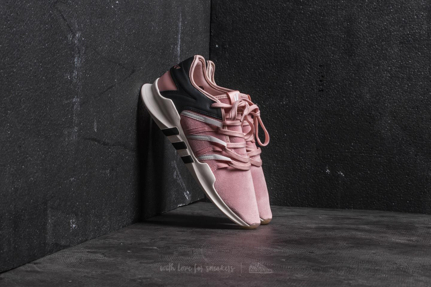 adidas Consortium x Overkill x Fruition Sneaker Exchange EQT Lacing ADV Vapour Pink/ Icey Pink/ Clear White - 20741