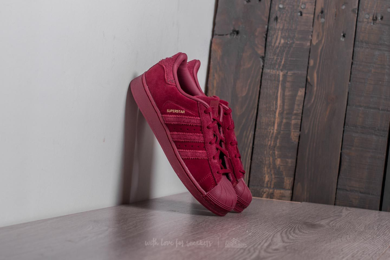 adidas Superstar J Burgundy/ Burgundy/ Burgundy - 20931