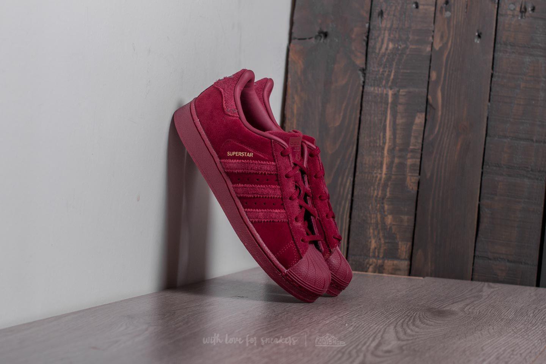 adidas Superstar C Burgundy/ Burgundy/ Burgundy - 20932