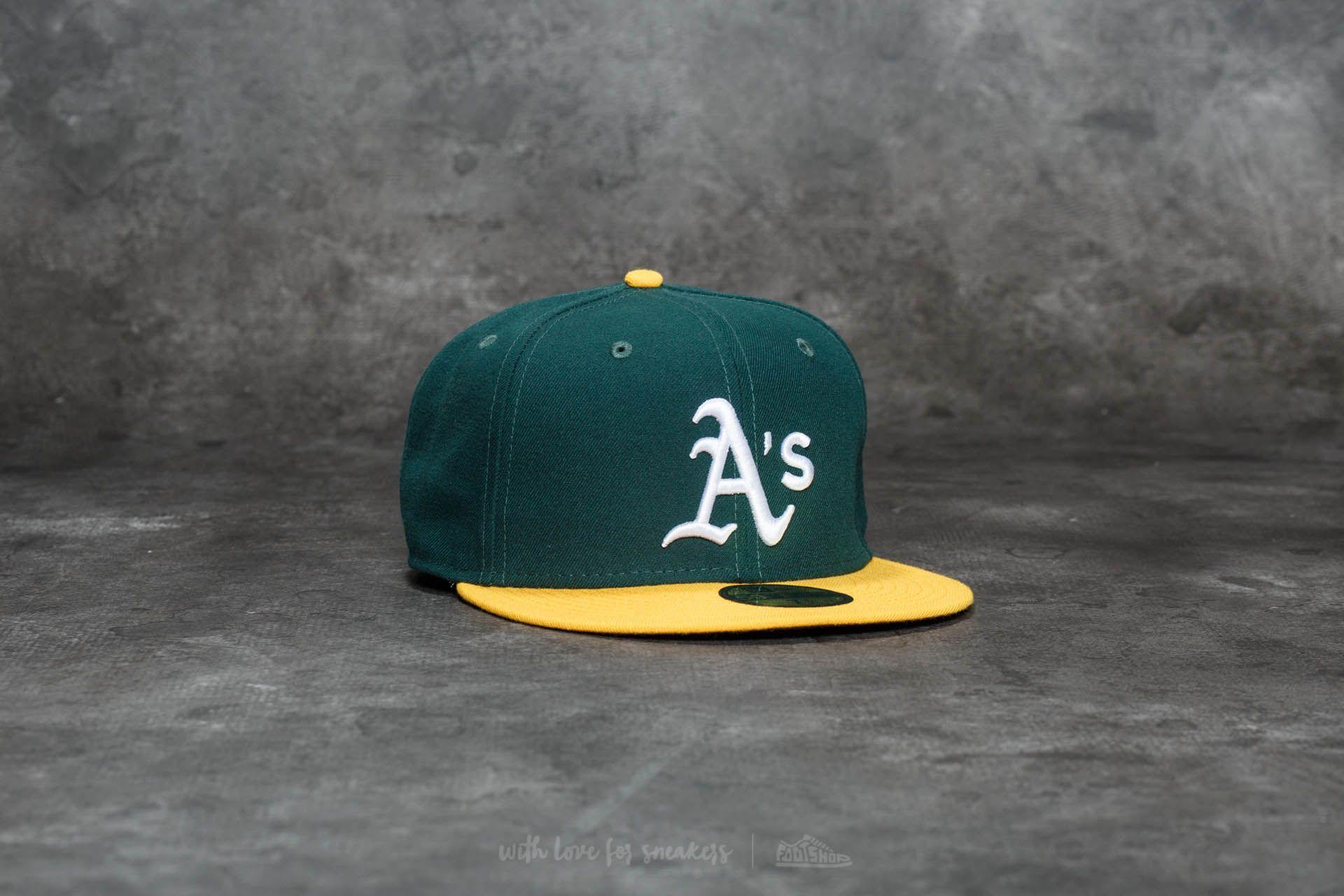 New Era 59Fifty Acperf Oakland Athletics Cap Green - 20696