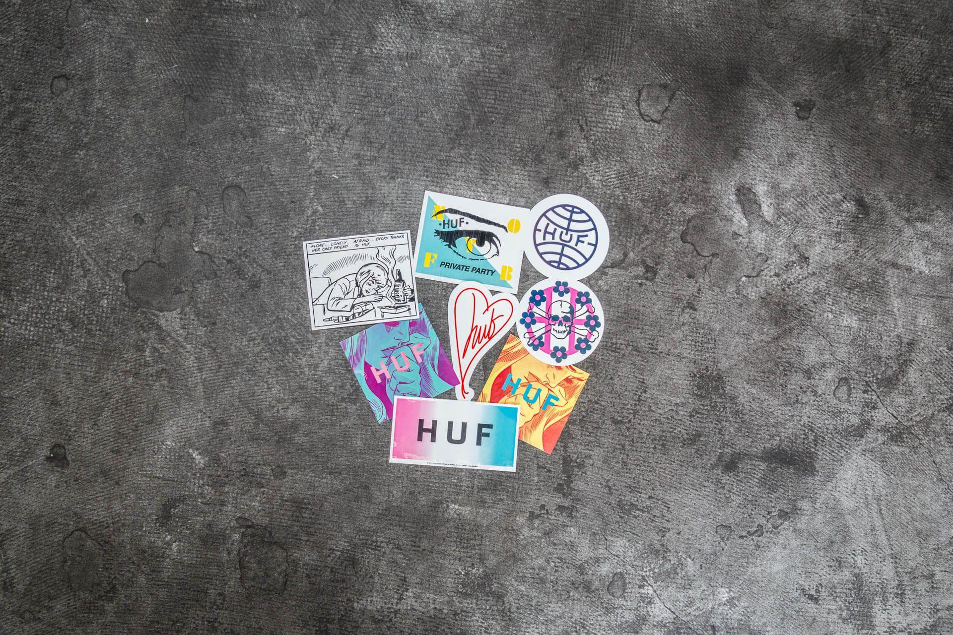 HUF Seasonal Sticker Pack Multicolor - 20746
