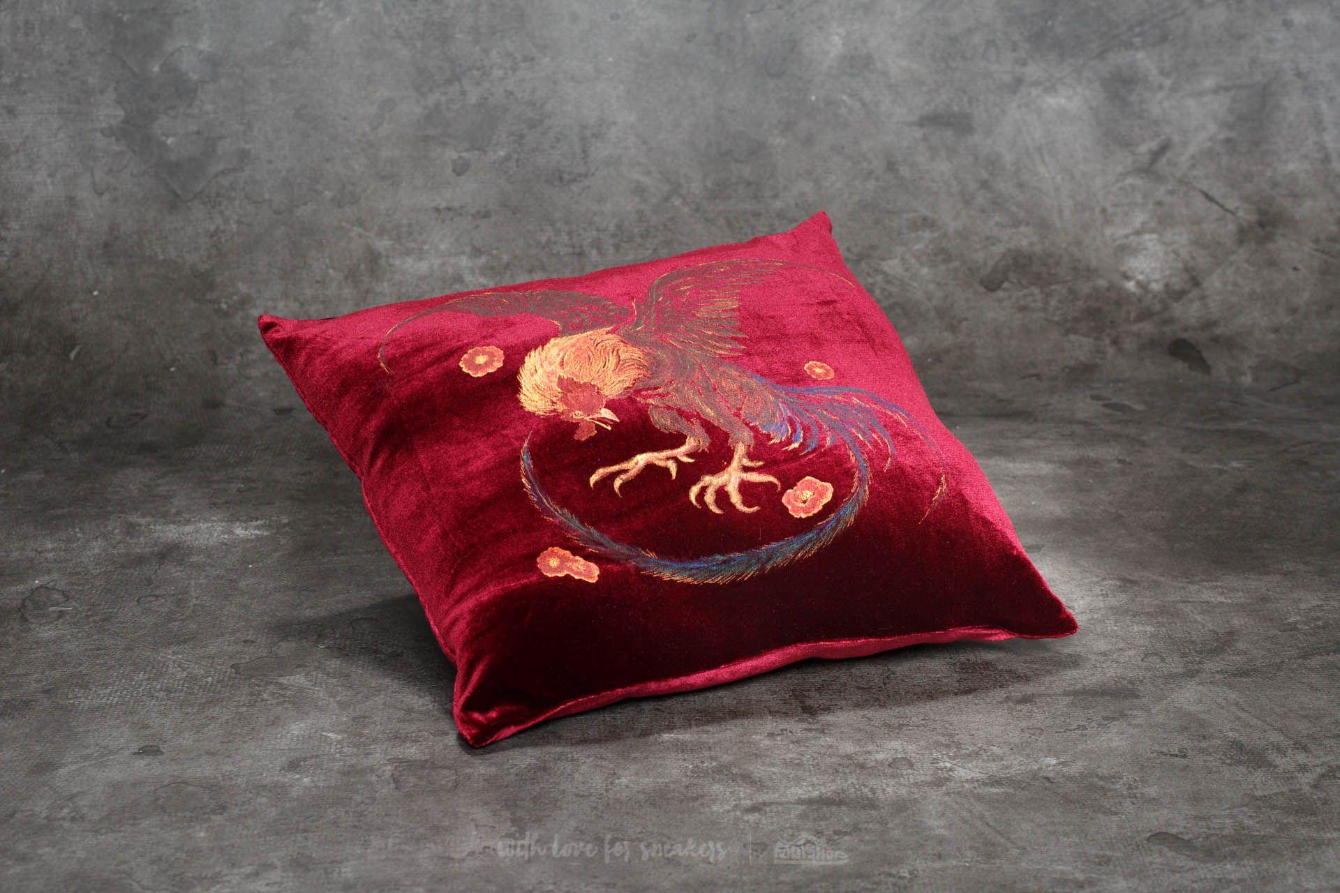 HUF Wild Cock Pillow Burgundy - 20747