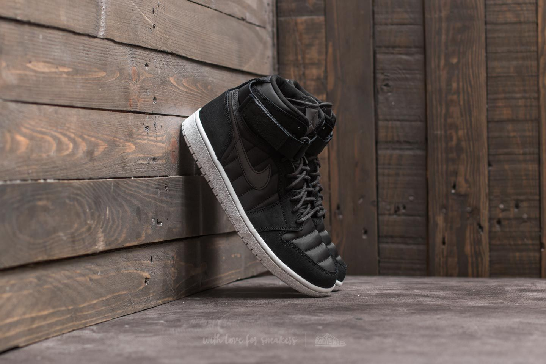 Air Jordan 1 High Strap Black/ Black-Pure Platinum - 20989