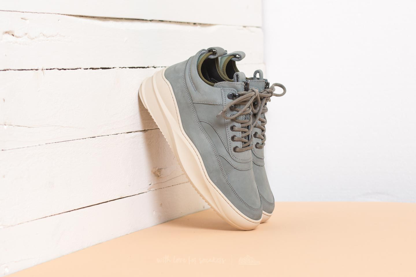 Filling Pieces Low Field Boot Sky Army Green - 21391