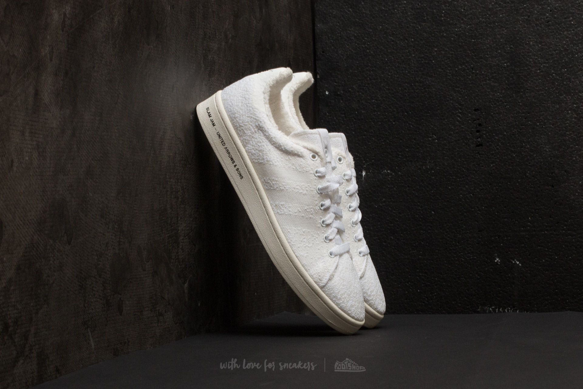 adidas Consortium SE United Arrows & Sons x Slam Jam Campus Footwear White/ Footwear White/ Core White - 21029