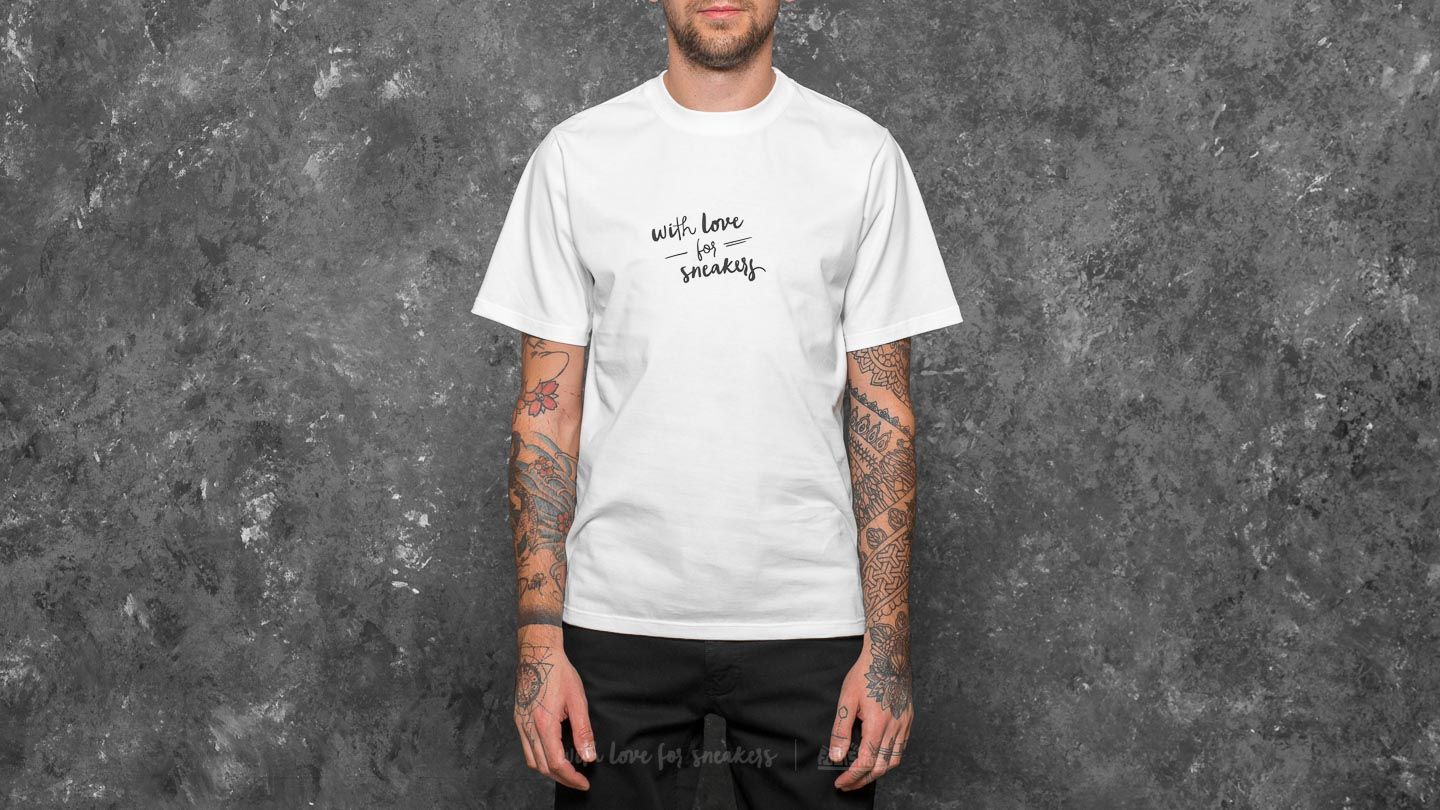 Footshop With Love For Sneakers Tee White - 21642
