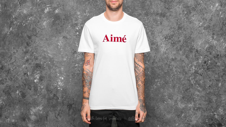 Aimé Leon Dore Aimé Shortsleeve Logo Tee White - 21516