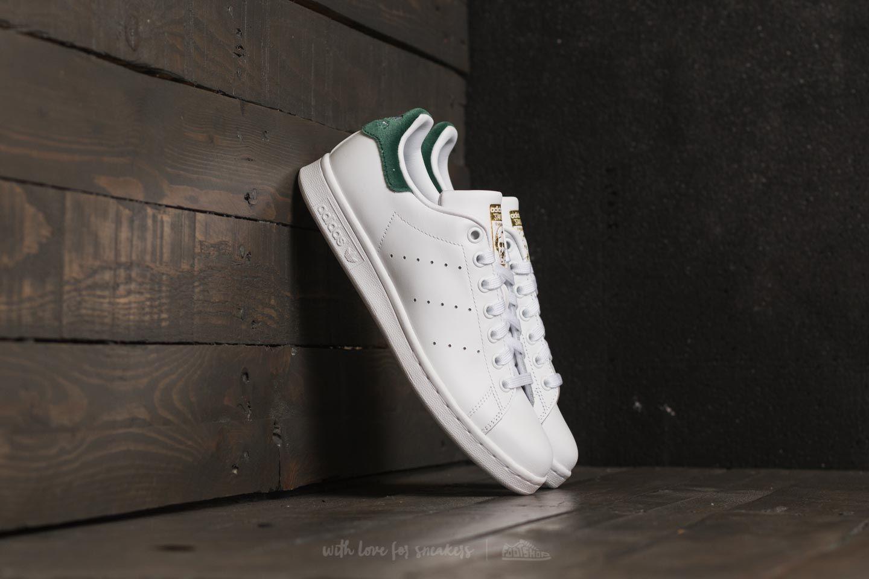 adidas Stan Smith J Ftw White/ Ftw White/ Core Green - 21993