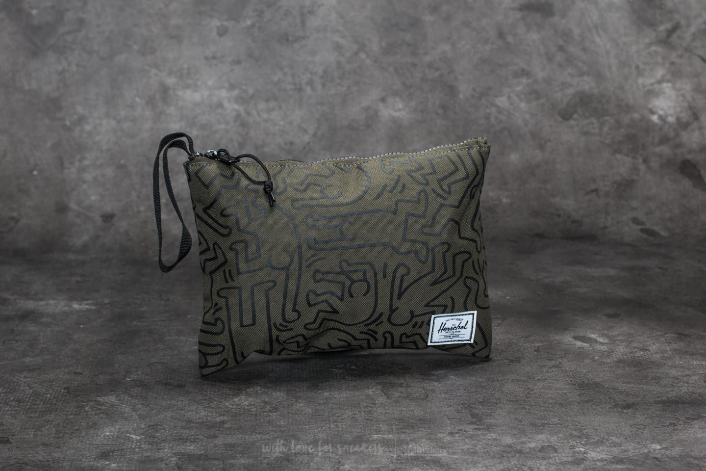 Herschel Supply Co. Network Pouch Forest Night-Keith Haring - 22098