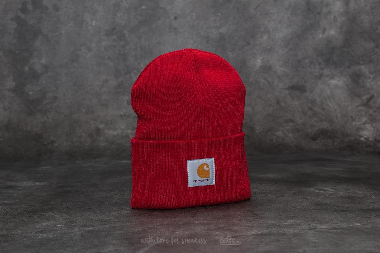Carhartt WIP Acrylic Watch Hat Blast Red - 21986