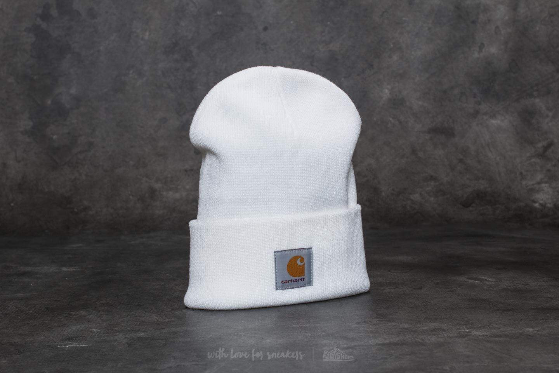 Carhartt WIP Acrylic Watch Hat White - 22009