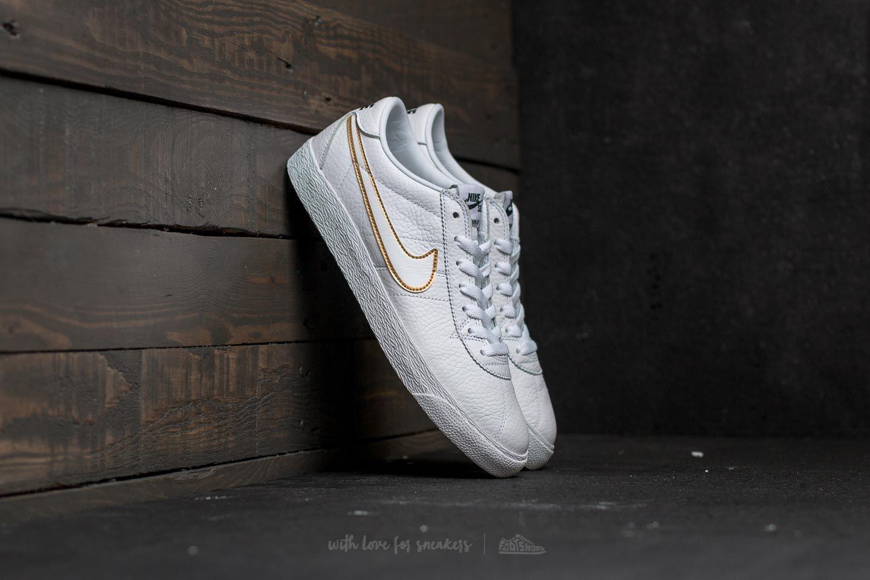 Nike SB Bruin Zoom Premium SE White/ White-Metallic Gold - 22182