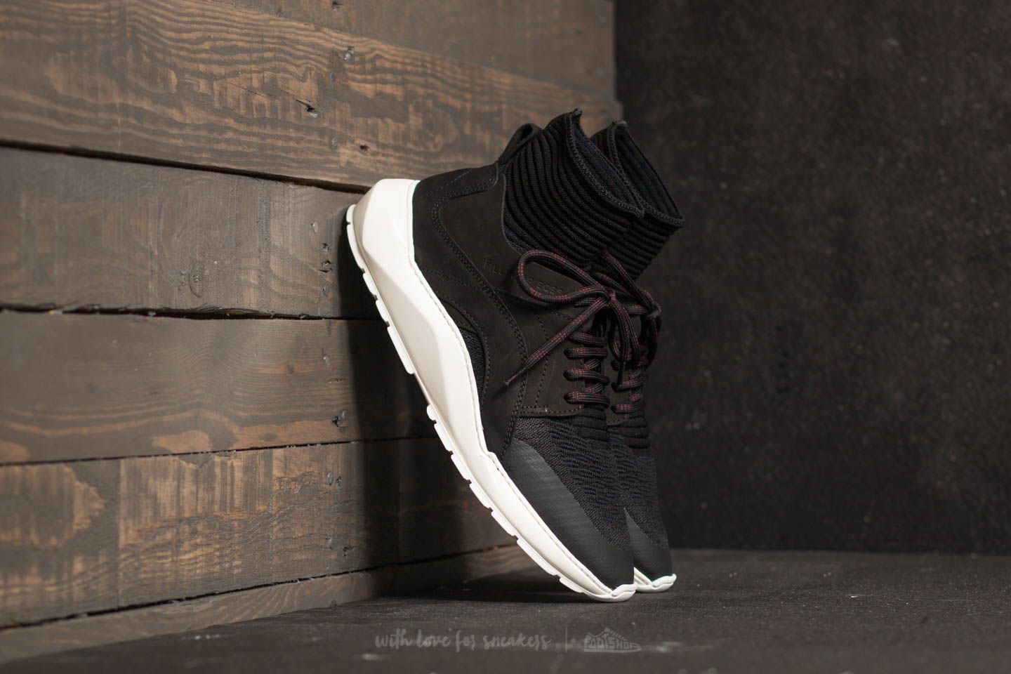 Filling Pieces High Strike Arch Runner Cross Knit Black - 22219