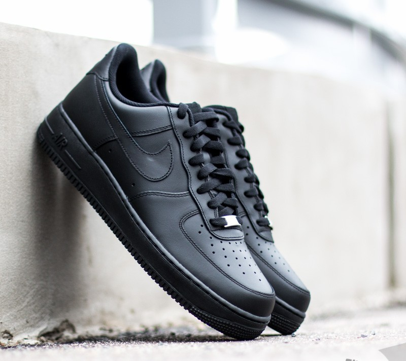 Nike Air Force 1 ´07 Black/Black - 1304