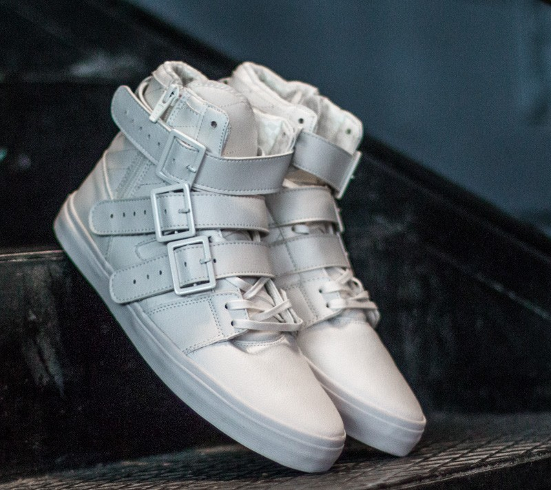 Radii Straight Jacket VLC Triple White Waxed Pebble Leather - 5162