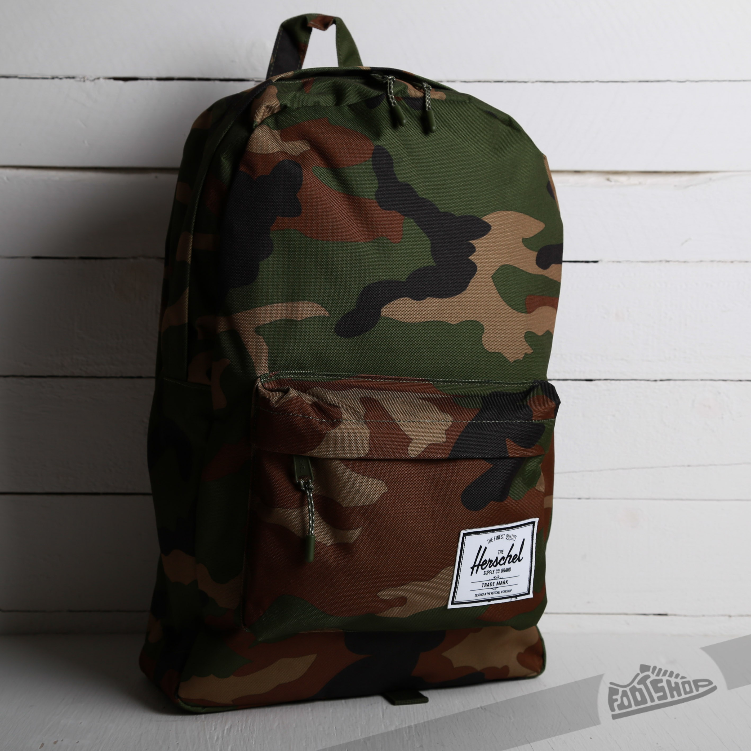 Herschel Supply Classic Backpack Woodland Camo - 3972