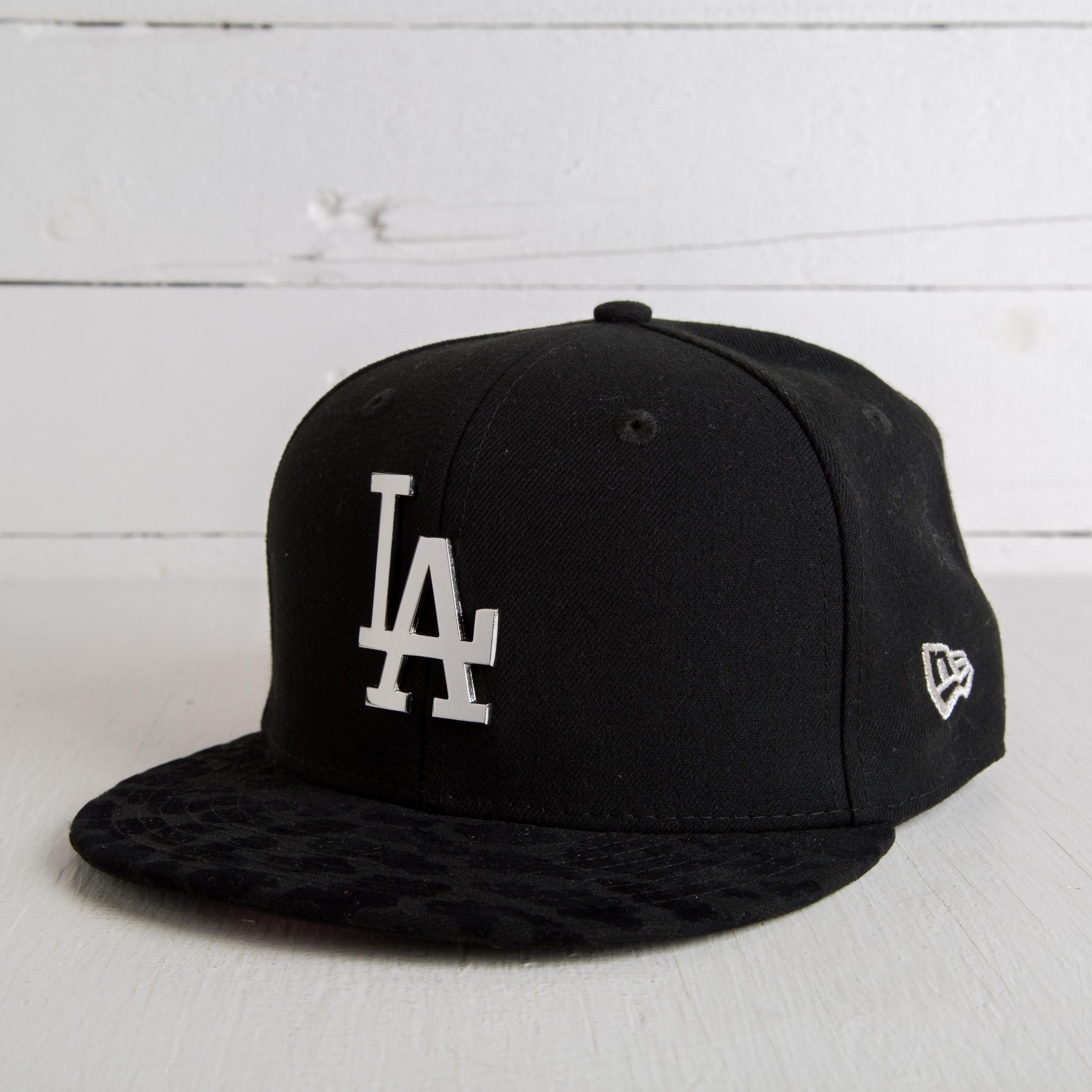 New Era 9FIFTY Glitz Peak LA Dodgers Black/Silver - 4982
