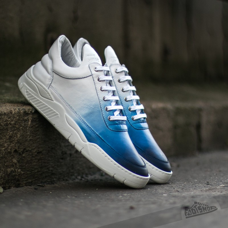 Filling Pieces Low Top Degrade Blue/ White - 6663