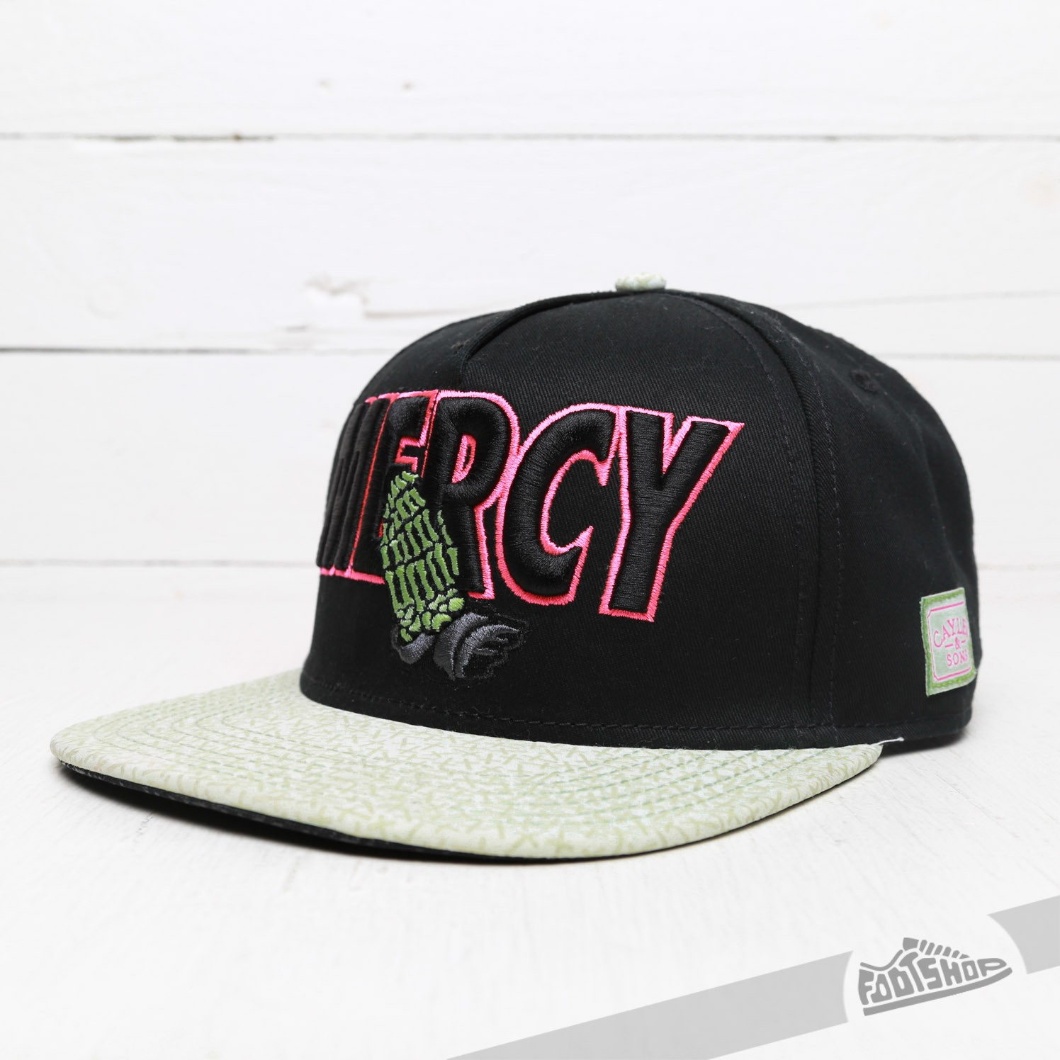 Cayler & Sons Mercy Cap Black/ Pink/ Green - 6638