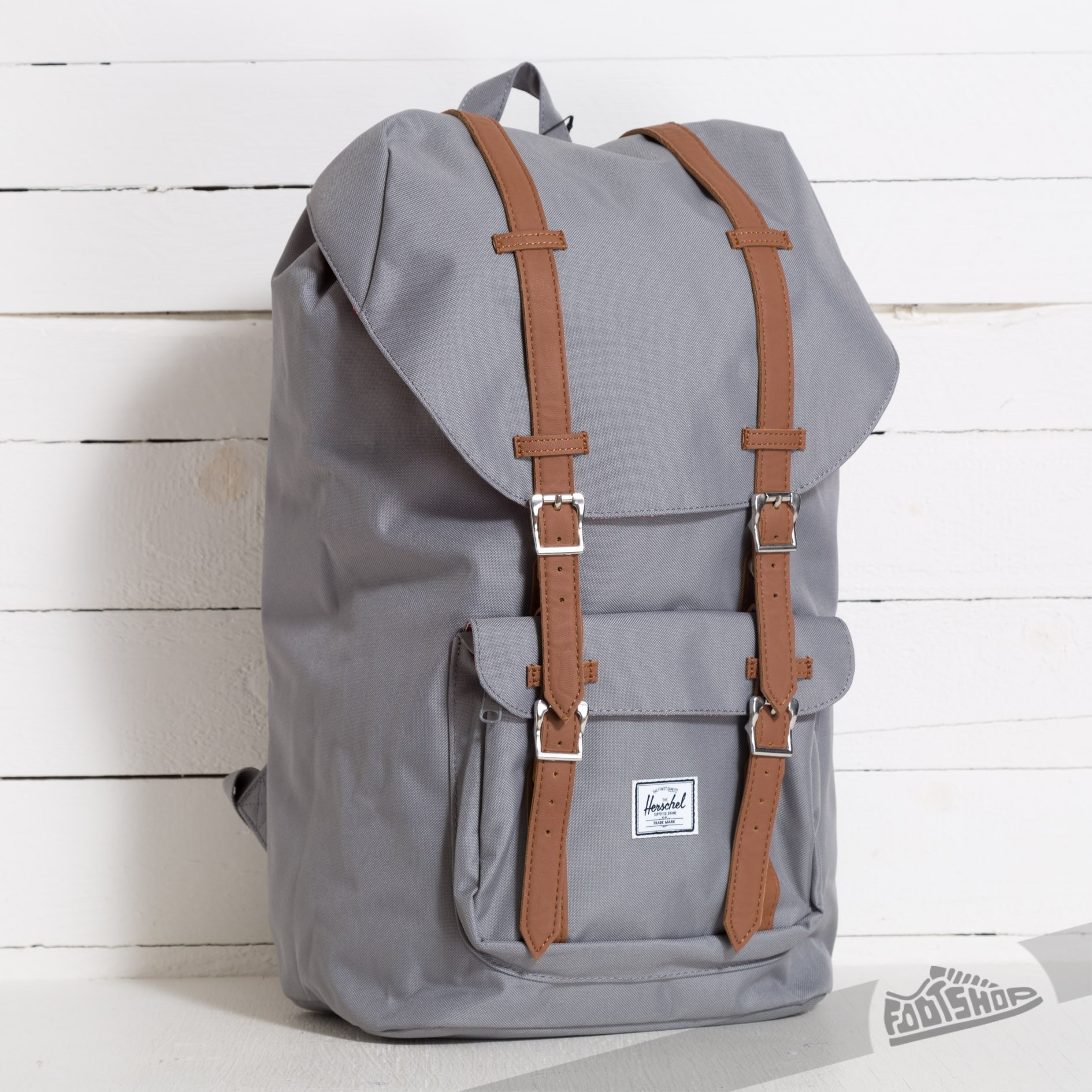 Herschel Supply Co. Little America Backpack Grey/Tan - 6974