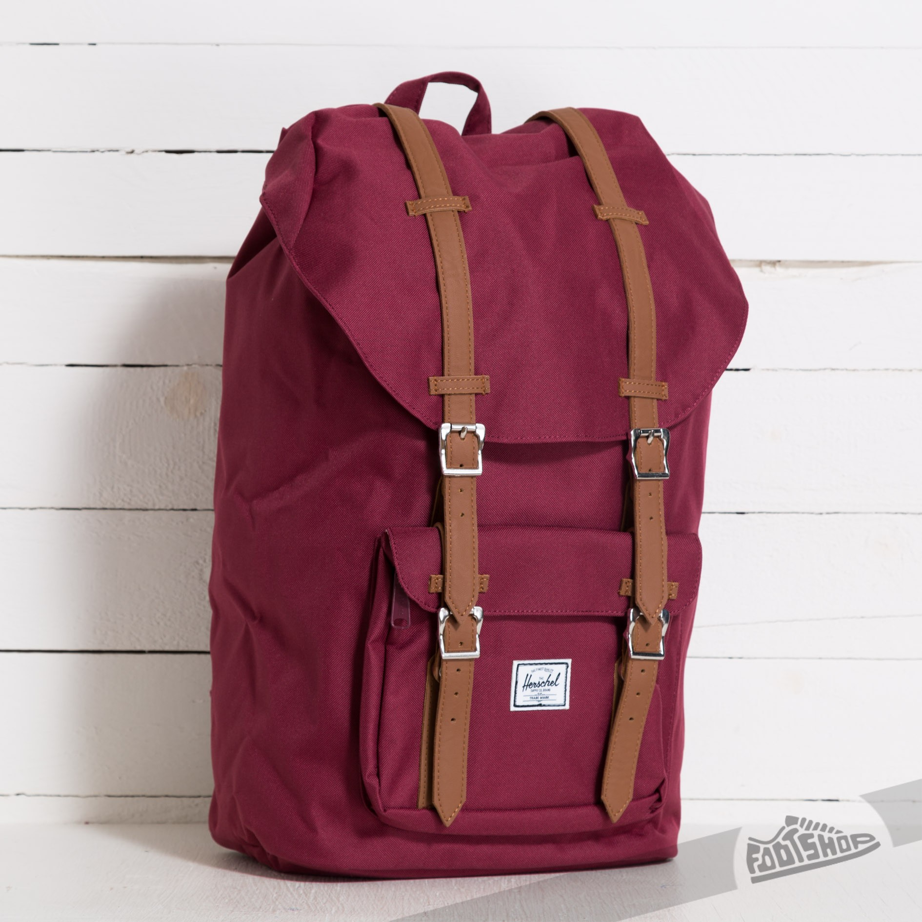 Herschel Supply Co. Little America Backpack Windsor Wine/Tan - 6985