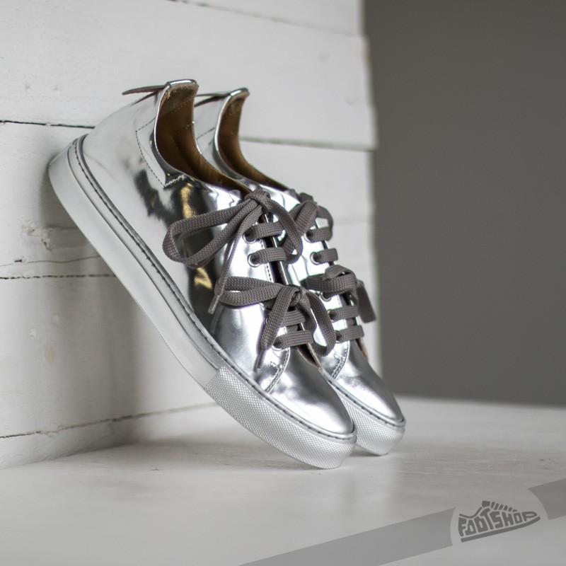 Marco Laganà Sneaker Low Silver/ Silver - 7351