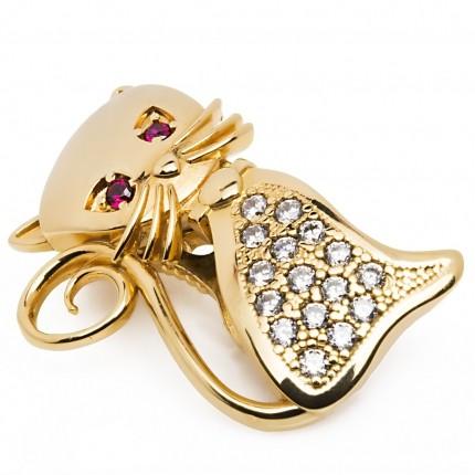 Shoeclipper Perfect Kat-ching Gold - 8472