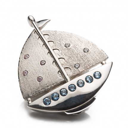 Shoeclipper Boatiful Twinkle Silver - 8491