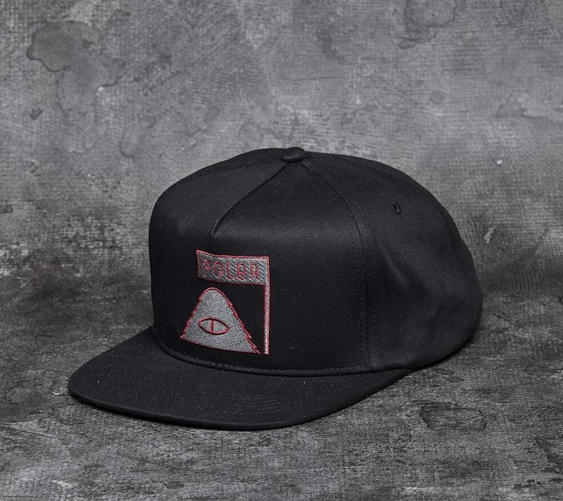Poler Cyclops Snapback Black - 8783