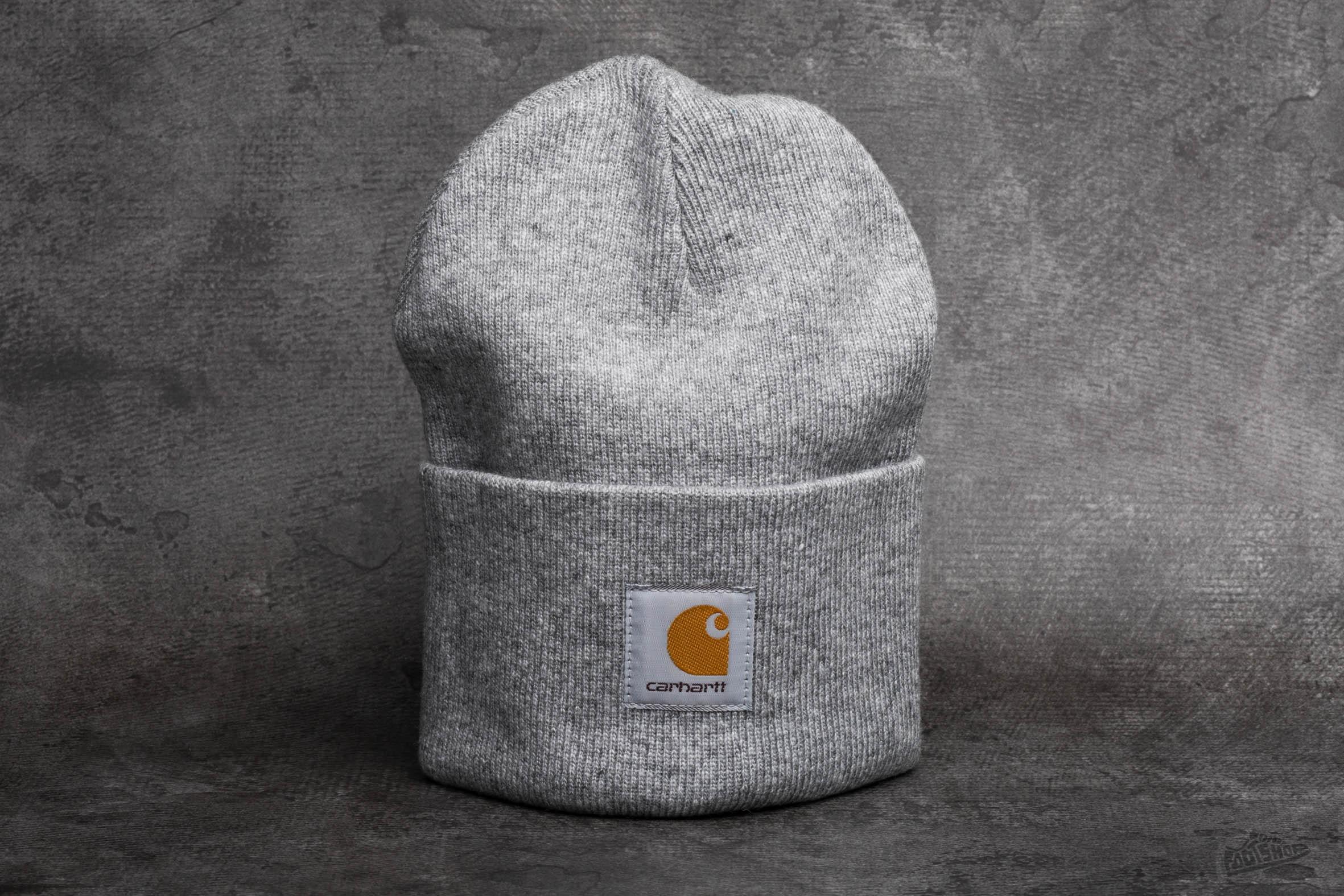 Carhartt WIP Acrylic Watch Hat Grey Heather - 7337