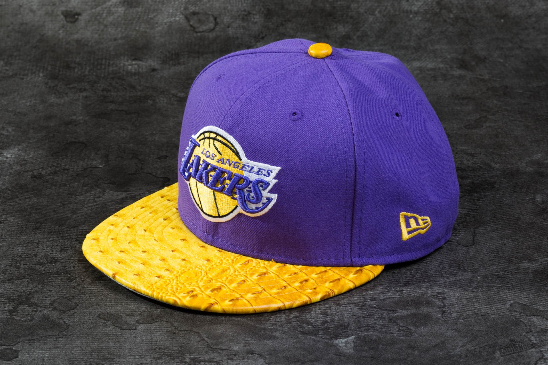 New Era 59FIFTY Reptile Mix Loslak Lakers - 1613