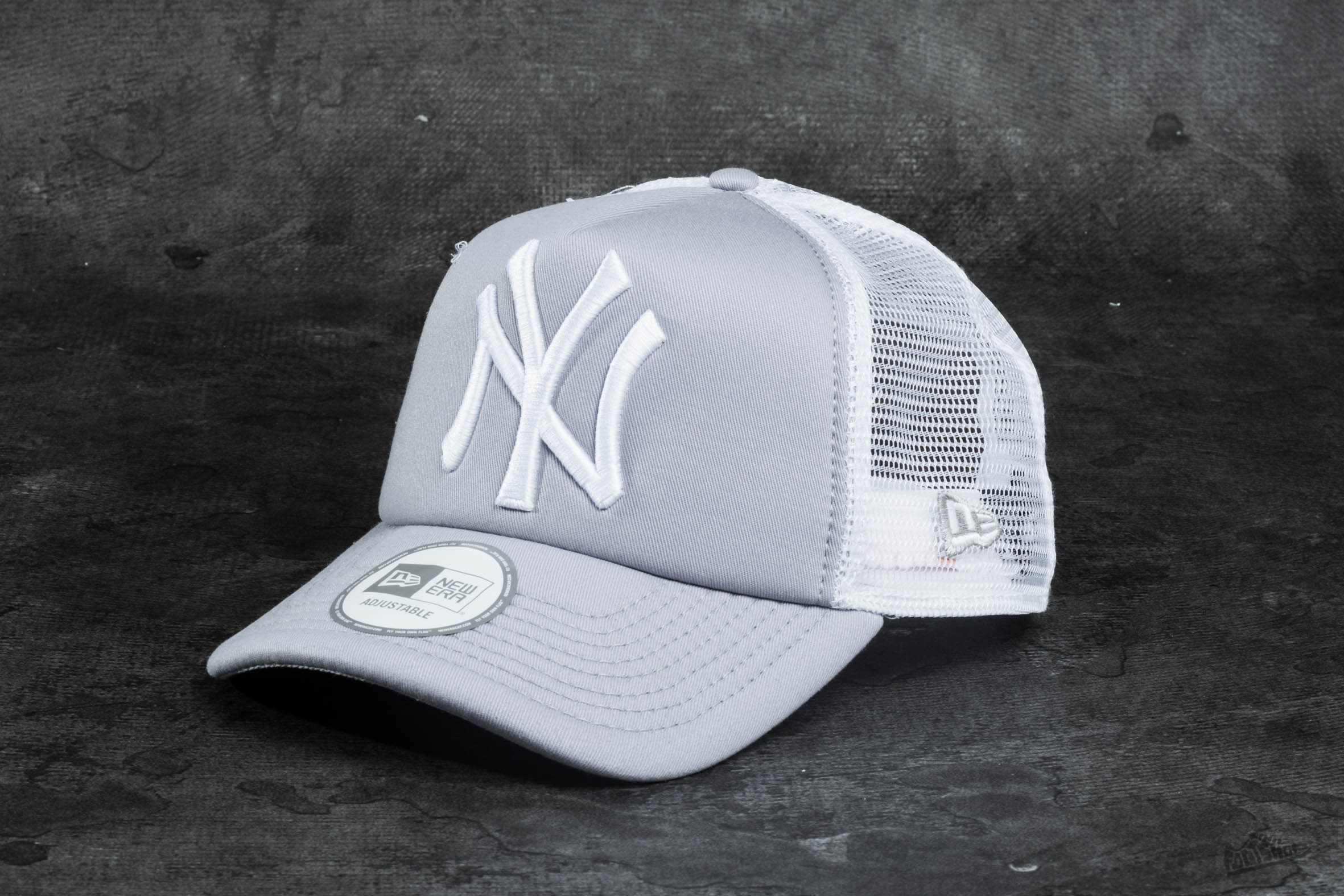 New Era Clean Trucker New York Yankees Grey/ White - 9242